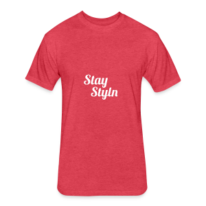 Stay Styln - Fitted Cotton/Poly T-Shirt by Next Level