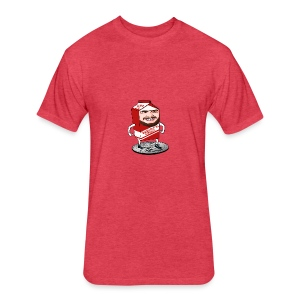 Daddy's Milk - Fitted Cotton/Poly T-Shirt by Next Level