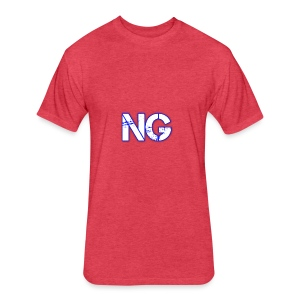 cooltext221976116542463 - Fitted Cotton/Poly T-Shirt by Next Level