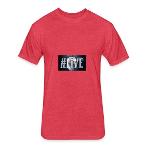 Break Free Go Live - Fitted Cotton/Poly T-Shirt by Next Level