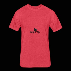 logo_T2F_b - Fitted Cotton/Poly T-Shirt by Next Level