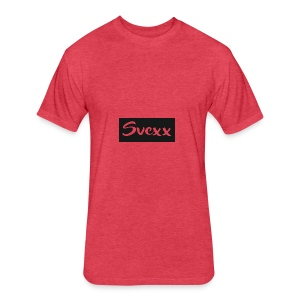 Svexx - Fitted Cotton/Poly T-Shirt by Next Level