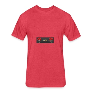GpsHunter12 - Fitted Cotton/Poly T-Shirt by Next Level