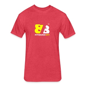 878PITTSBURGH CITY - Fitted Cotton/Poly T-Shirt by Next Level
