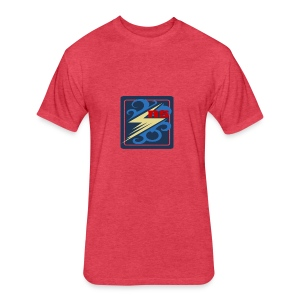 Rimps Logo Flash - Fitted Cotton/Poly T-Shirt by Next Level