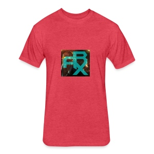 THE ARX LOGO - Fitted Cotton/Poly T-Shirt by Next Level