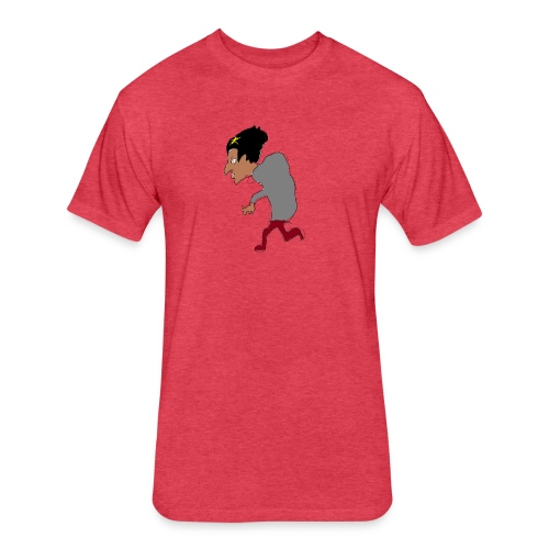 A tea - Fitted Cotton/Poly T-Shirt by Next Level