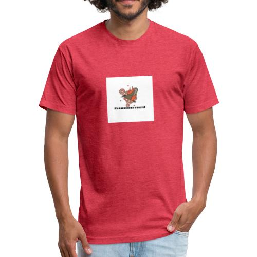 flammable coots - Fitted Cotton/Poly T-Shirt by Next Level
