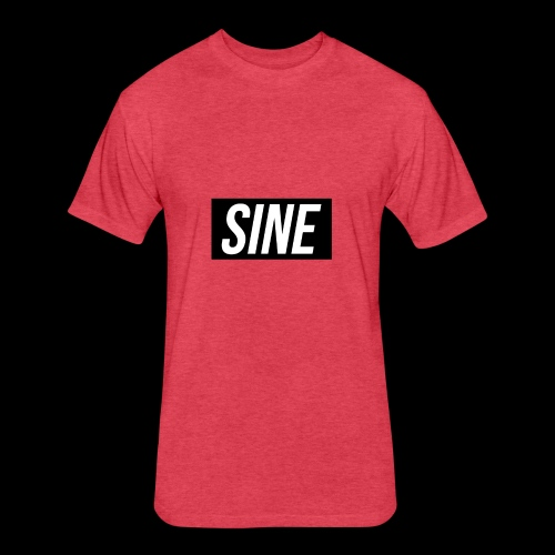 Sine - Fitted Cotton/Poly T-Shirt by Next Level