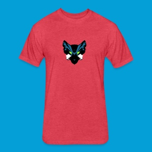 Galaxy Wolf Pack - Fitted Cotton/Poly T-Shirt by Next Level