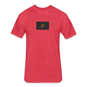 bitcoin 1923206 640 - Fitted Cotton/Poly T-Shirt by Next Level