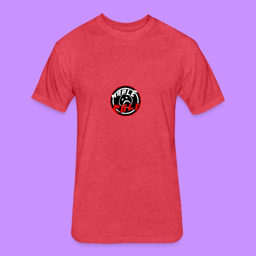 Maple Cult Circle - Fitted Cotton/Poly T-Shirt by Next Level