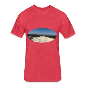 Rock - Fitted Cotton/Poly T-Shirt by Next Level