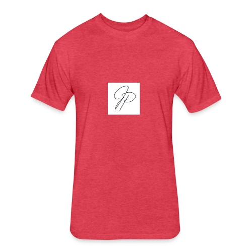 Be A J.P. - Fitted Cotton/Poly T-Shirt by Next Level