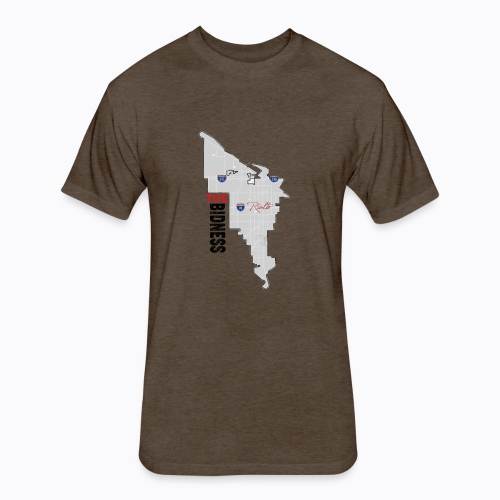 Toe Bidness - Fitted Cotton/Poly T-Shirt by Next Level