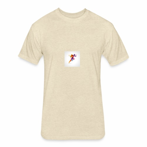 Running - Fitted Cotton/Poly T-Shirt by Next Level