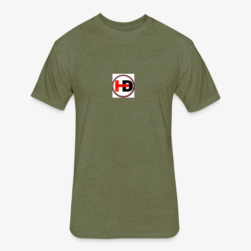 HDGaming - Fitted Cotton/Poly T-Shirt by Next Level