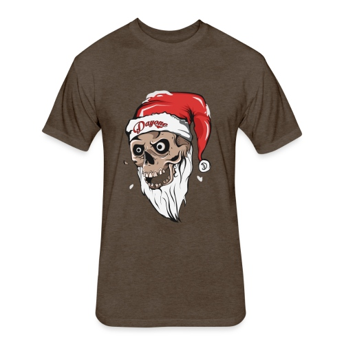 santskull - Fitted Cotton/Poly T-Shirt by Next Level
