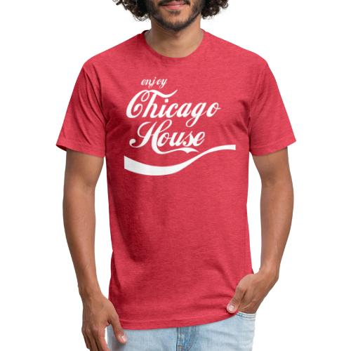 Enjoy Chicago House Tee - Fitted Cotton/Poly T-Shirt by Next Level