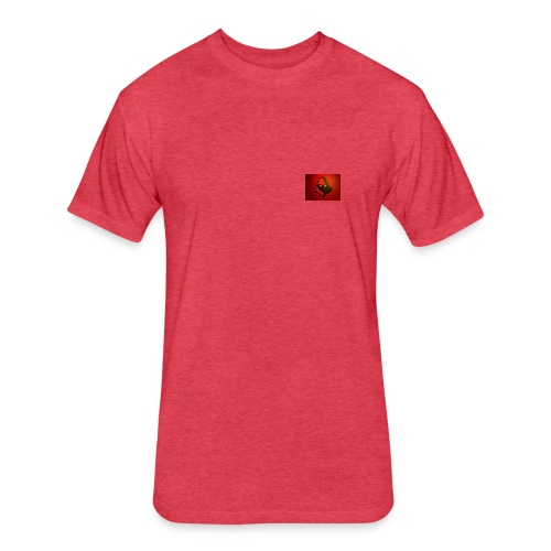 Fire merch - Fitted Cotton/Poly T-Shirt by Next Level