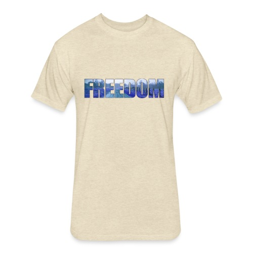 Freedom Photography Style - Fitted Cotton/Poly T-Shirt by Next Level