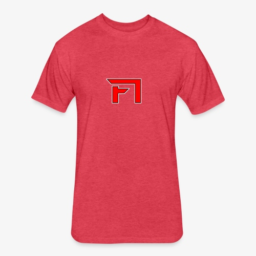 F1 Logo - Fitted Cotton/Poly T-Shirt by Next Level
