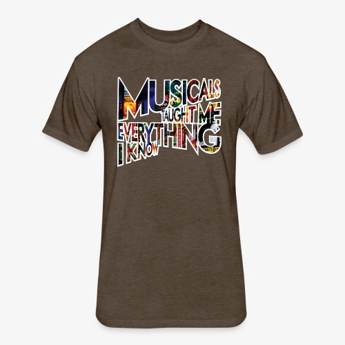 MTMEIK Broadway - Fitted Cotton/Poly T-Shirt by Next Level