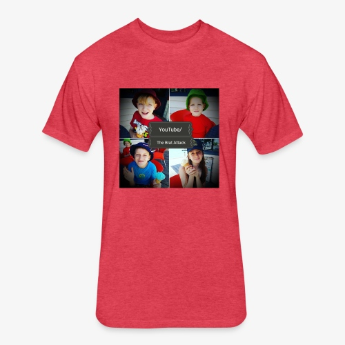 the brat attack 5 - Fitted Cotton/Poly T-Shirt by Next Level