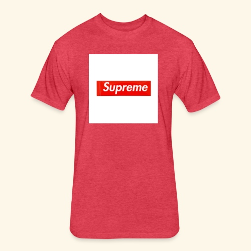 Cool Supreme clothes - Fitted Cotton/Poly T-Shirt by Next Level