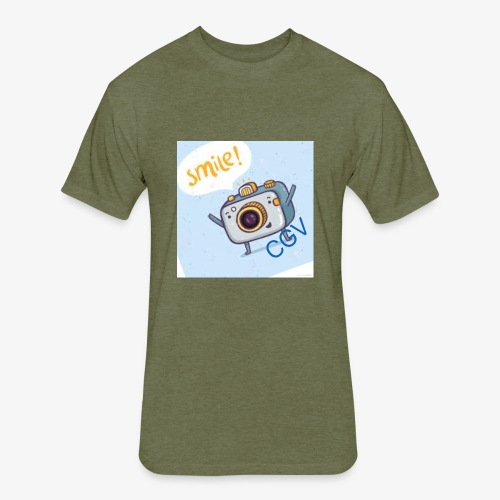 the smile - Fitted Cotton/Poly T-Shirt by Next Level