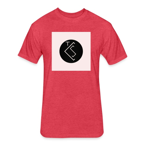 TLS - Fitted Cotton/Poly T-Shirt by Next Level
