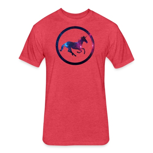 Believe Unicorn Universe 1 - Fitted Cotton/Poly T-Shirt by Next Level