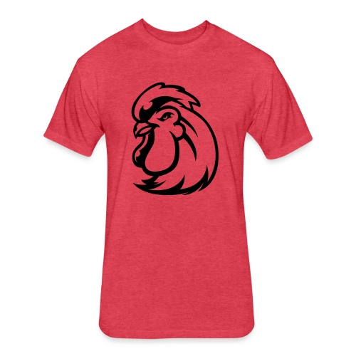 Peckers head t - Fitted Cotton/Poly T-Shirt by Next Level