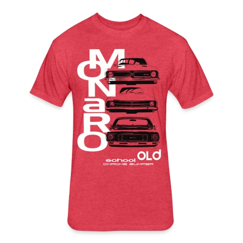 monaro over - Fitted Cotton/Poly T-Shirt by Next Level