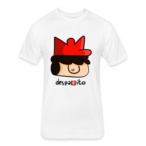 despabito - Fitted Cotton/Poly T-Shirt by Next Level