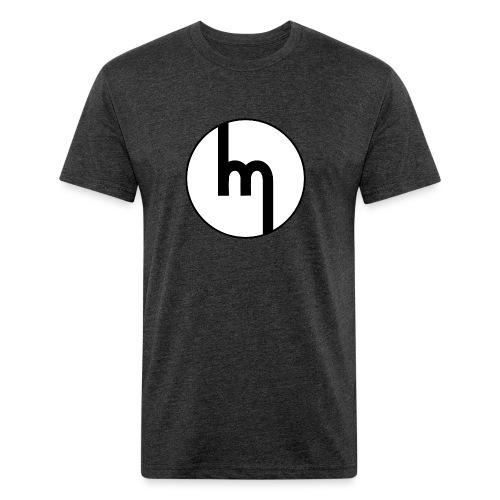 Classic Mazda emblem - AUTONAUT.com - Fitted Cotton/Poly T-Shirt by Next Level