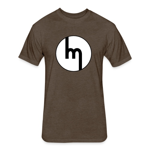 Classic Mazda emblem - AUTONAUT.com - Fitted Cotton/Poly T-Shirt by Next Level