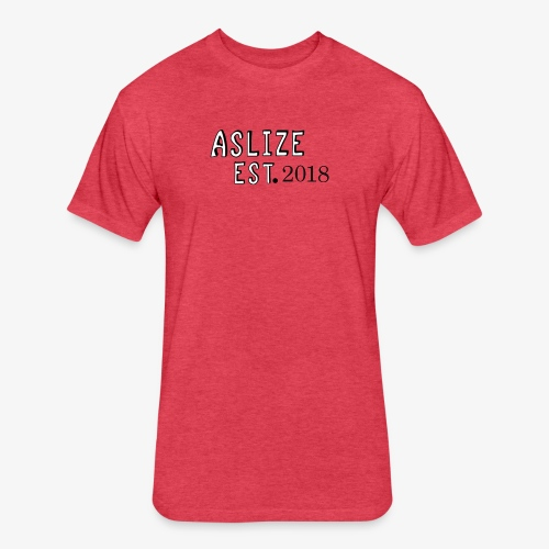 Aslize 2018 - Fitted Cotton/Poly T-Shirt by Next Level