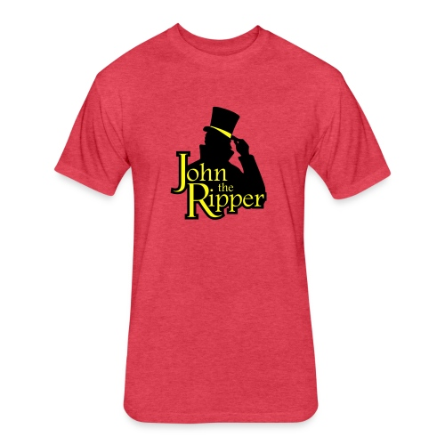 John the Ripper - Fitted Cotton/Poly T-Shirt by Next Level