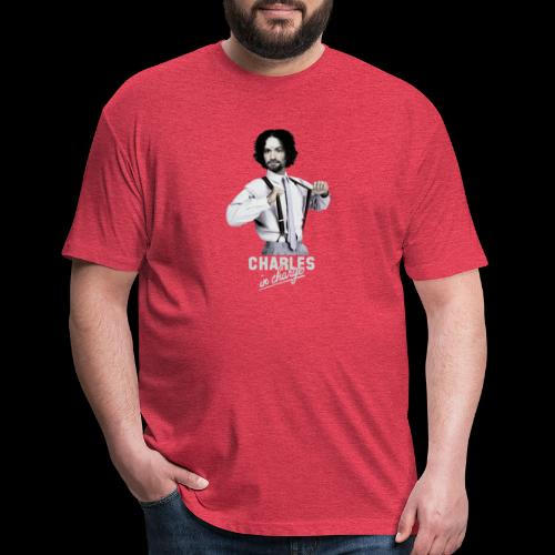 CHARLEY IN CHARGE - Fitted Cotton/Poly T-Shirt by Next Level