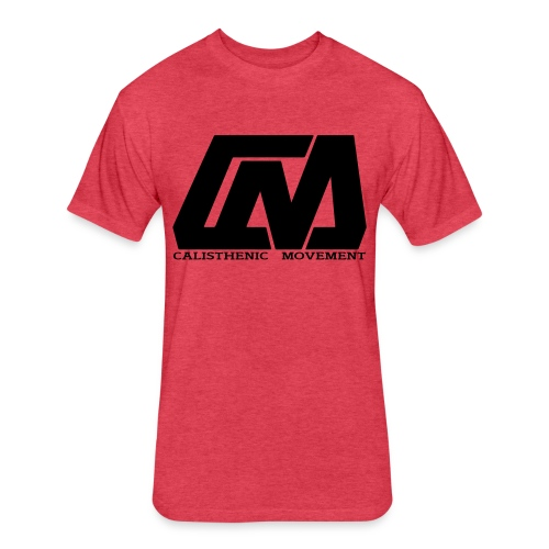 Cali Move Front black women - Fitted Cotton/Poly T-Shirt by Next Level