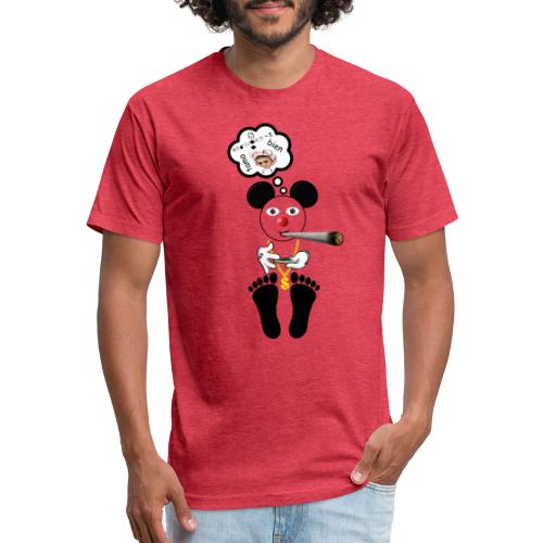 TAMO BIEN - Fitted Cotton/Poly T-Shirt by Next Level