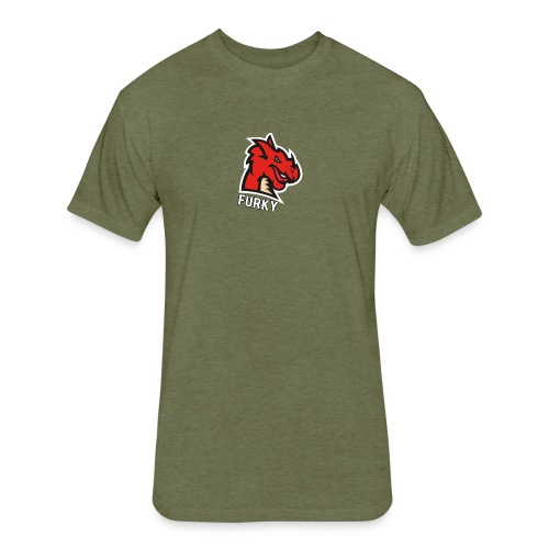 FurkyYT - Fitted Cotton/Poly T-Shirt by Next Level