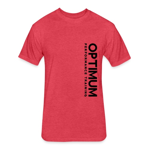 Optimum Performance Training - Fitted Cotton/Poly T-Shirt by Next Level