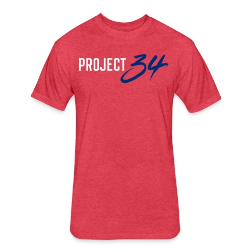 Phillies_Project 34 - Fitted Cotton/Poly T-Shirt by Next Level