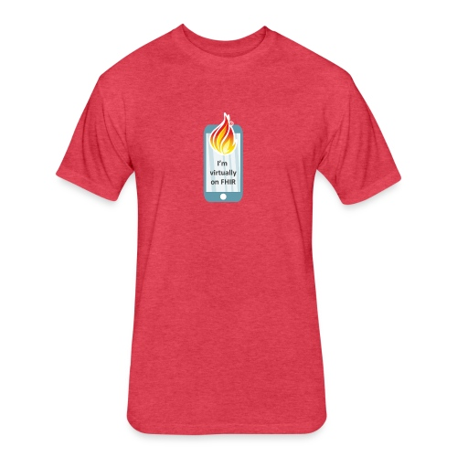 HL7 FHIR DevDays 2020 - Mobile - Fitted Cotton/Poly T-Shirt by Next Level