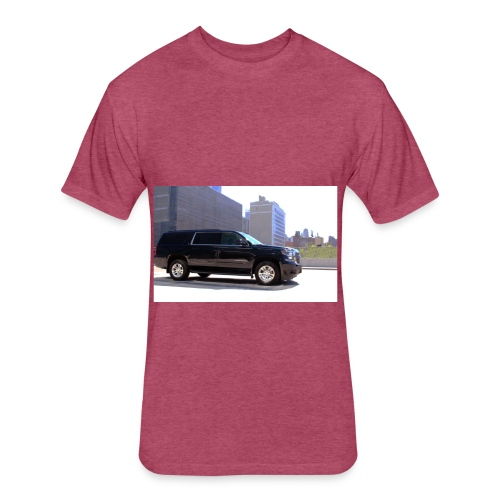 PINK TRANSPORATION - Fitted Cotton/Poly T-Shirt by Next Level