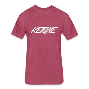 Ketone - Fitted Cotton/Poly T-Shirt by Next Level