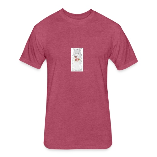 Fresh Fruit Apparel - Fitted Cotton/Poly T-Shirt by Next Level