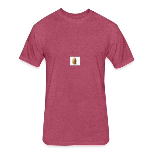 Tato - Fitted Cotton/Poly T-Shirt by Next Level